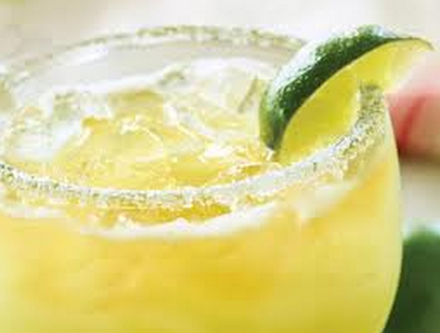 Lime Margarita with Lime