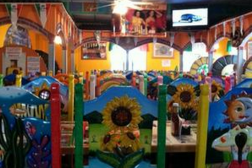 Dining Room at El Rancherito Mexican Restaurant in Galesburg